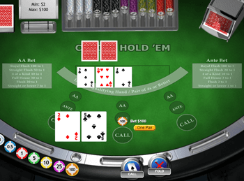 Casino Hold'em by Playtech