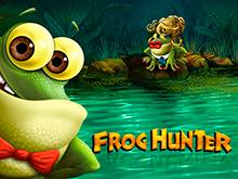 Виртуальный слот с крупными выплатами – Frog Hunter